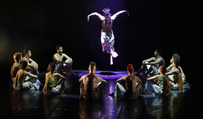 Wednesday 14 September 2016. Main Stage, Artscape Theatre Centre, Cape Town, Western Cape,  South Africa.  Jazzart Dance Theatre Presents...  JAZZART PRESENTS INJABULO 2016!  Jazzart Dance Theatre presents their new production Injabulo at Artscape Theatre in Cape Town, Western Cape, South Africa. This image taken during the final dress rehearsal on stage on Wednesday 14th September 2016.   PICTURE: MARK WESSELS. 14/09/2016. +27 (0)21 551 5527. +27 (0)78 222 8777. atomic7@mweb.co.za www.markwesselsphoto.com