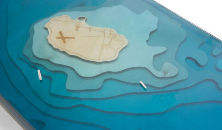 Shift Perspective Creates Robben Island Coffee Table to Commemorate the Island's Historical Significance