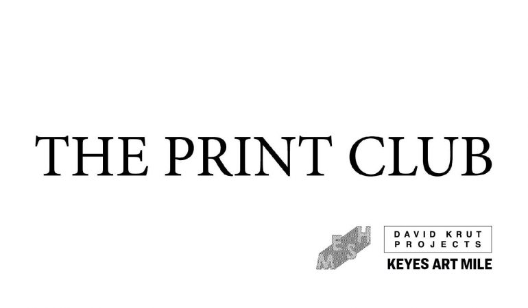 Print Club – David Krut Projects x Mesh Club