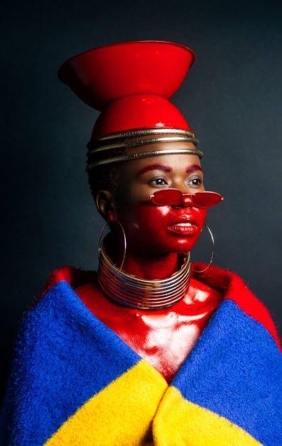Ndebele Superhero by Lonwabo Zimela