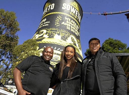June  21   2018     Soweto Gold Superior Golden Lager, the beer born and brewed eKasi, is celebrating the true spirit of Soweto on its most famous landmark,Ndumiso Madlala, Brew Master at Soweto Brewing Co, designed by local artist, Karabo Poppy Moletsane  and Doctor Khumalo.  Piic Veli Nhlapo/Sowetan
