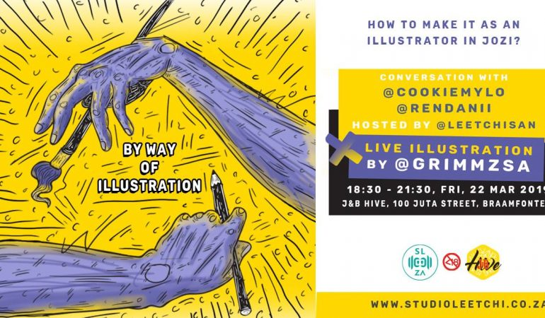 Event: 'By Way of Illustration' at J&B Hive with LeetchiSan