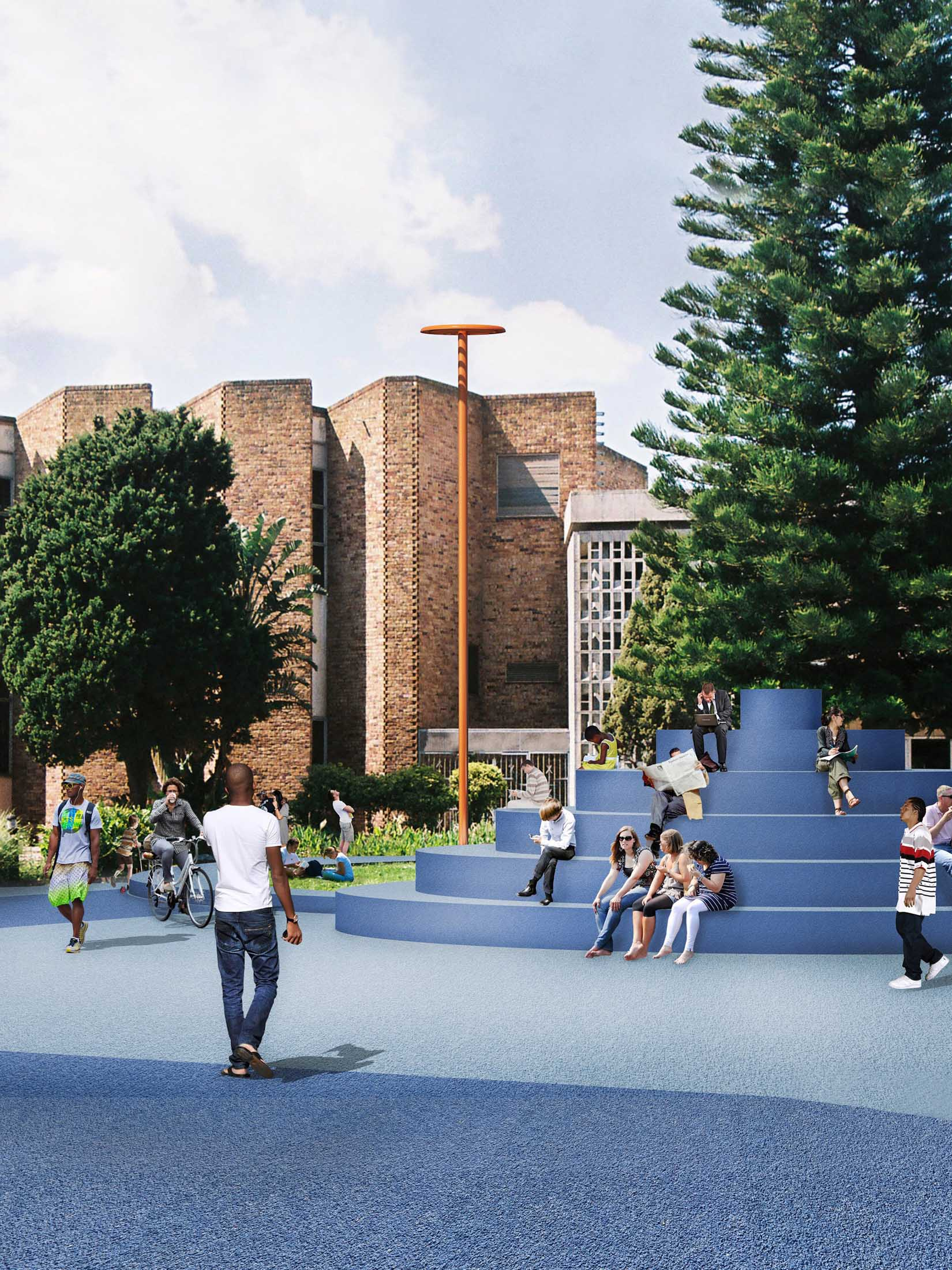 Concept for Sea Point Library Revival