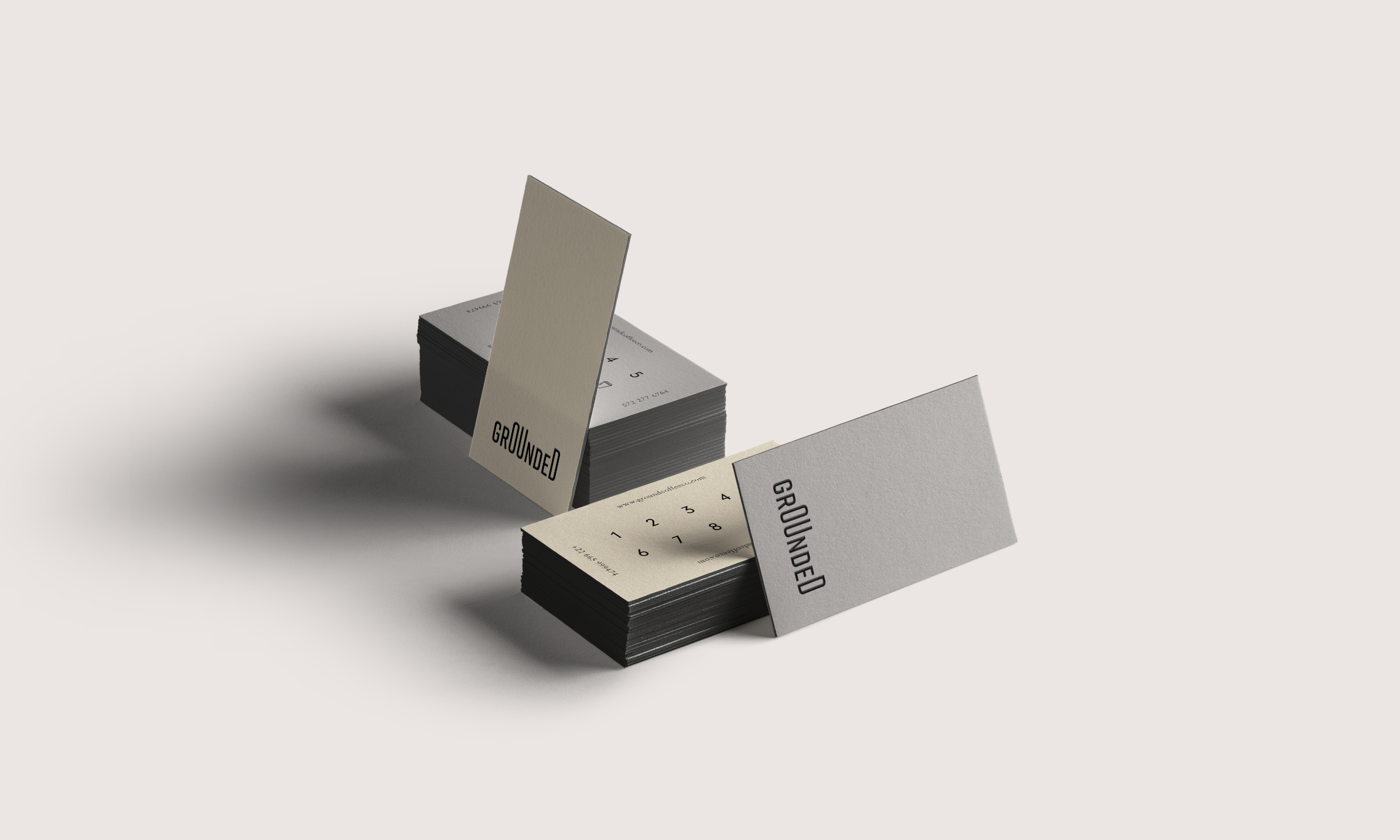Grounded Loyalty cards from Studio Collective
