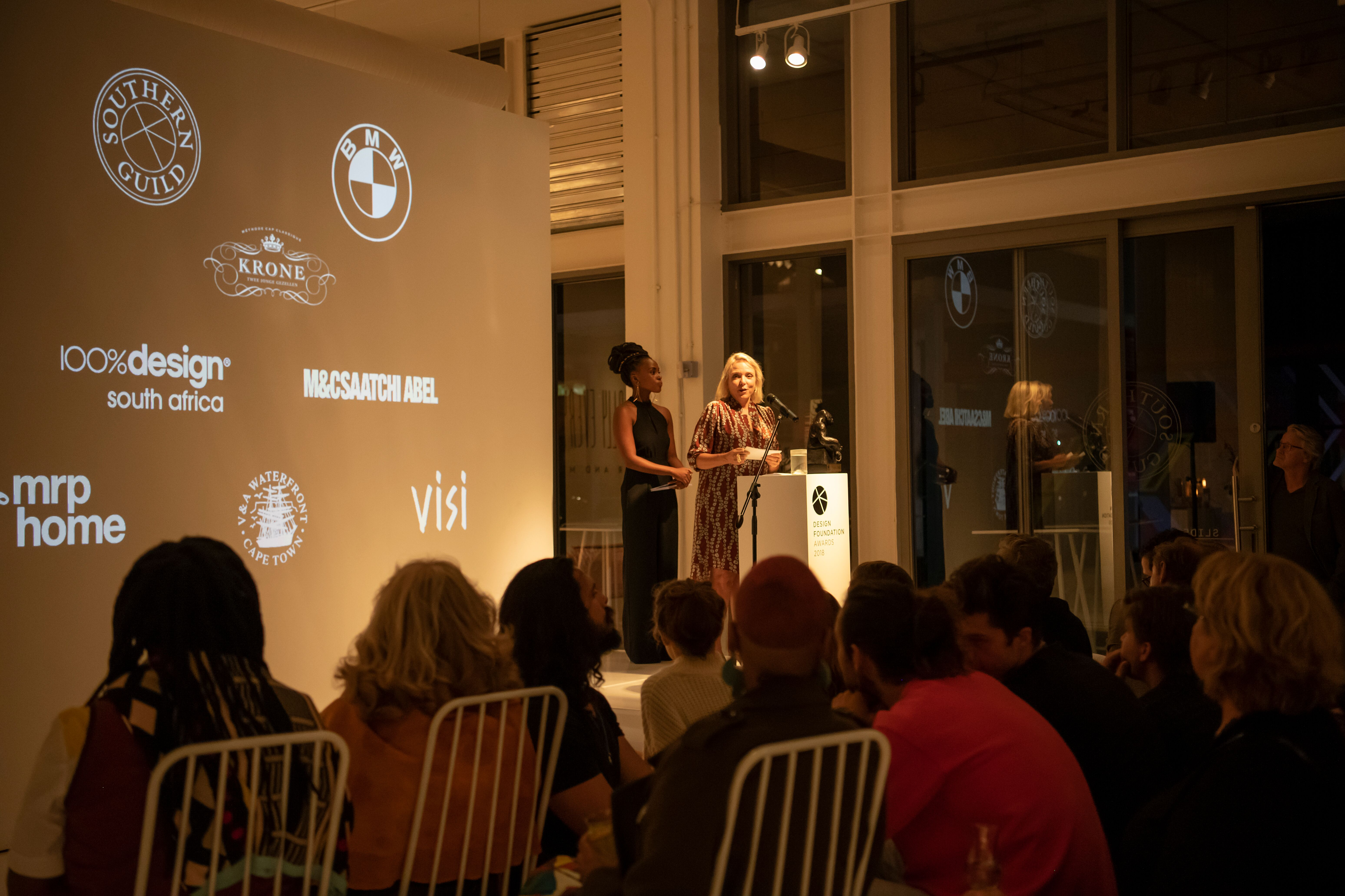 Design Foundation Awards Ceremony from the crowd's perspective