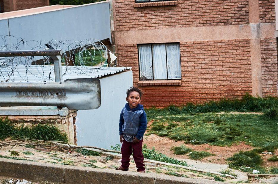 A kid in Westbury