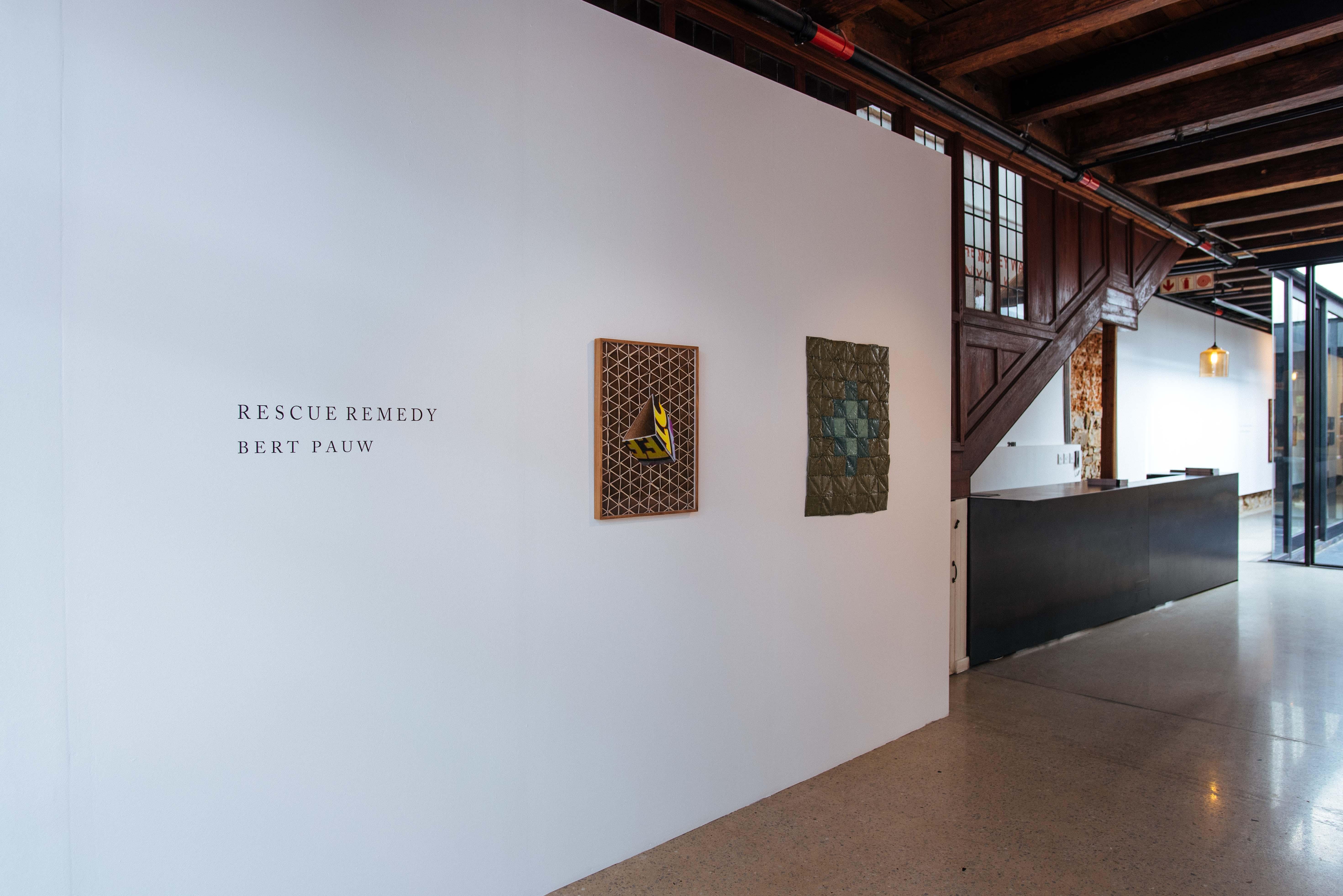 Bert Pauw Exhibition Entrance
