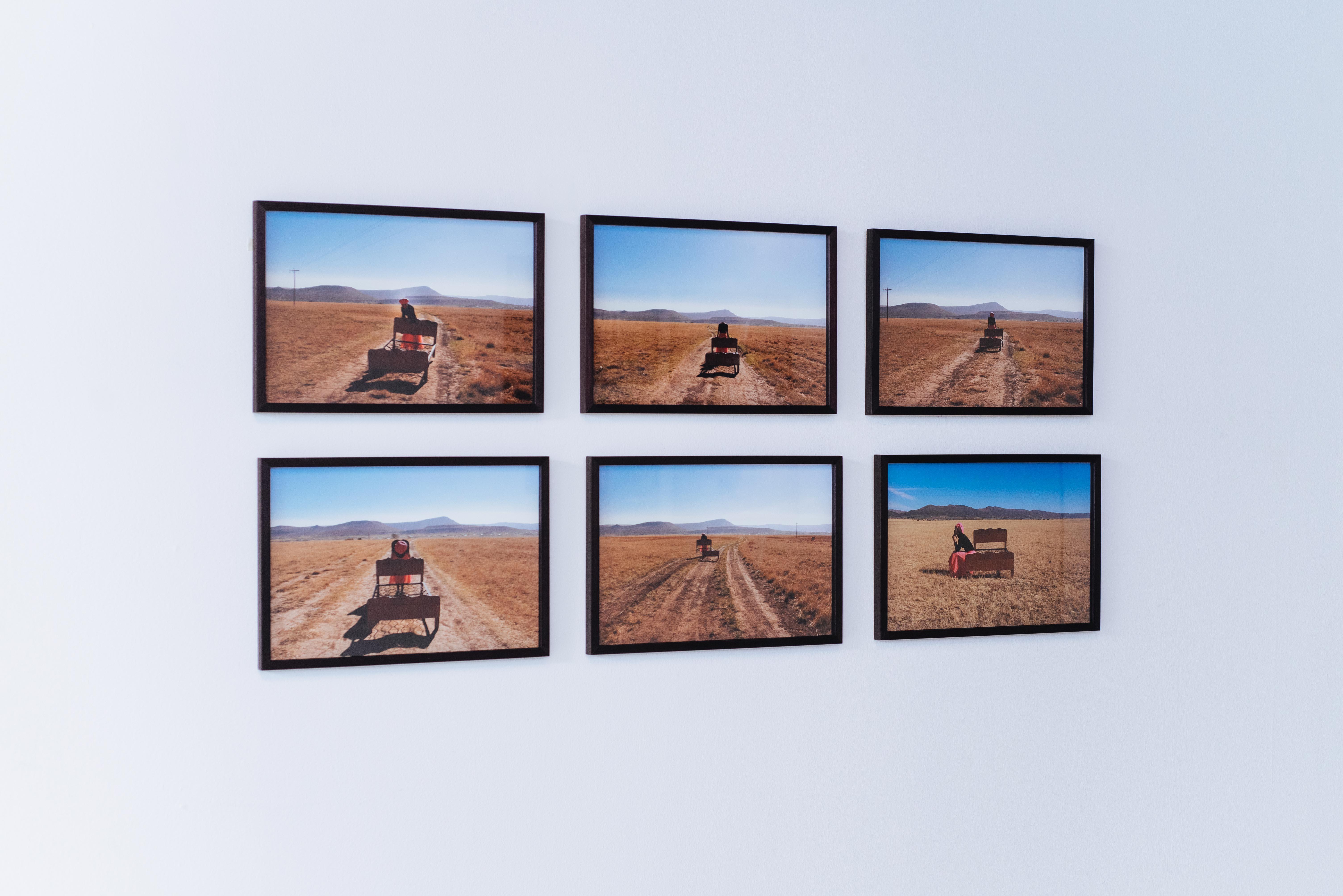 Exhibition of Thandiwe Msebenzi's photography at SMITH Gallery