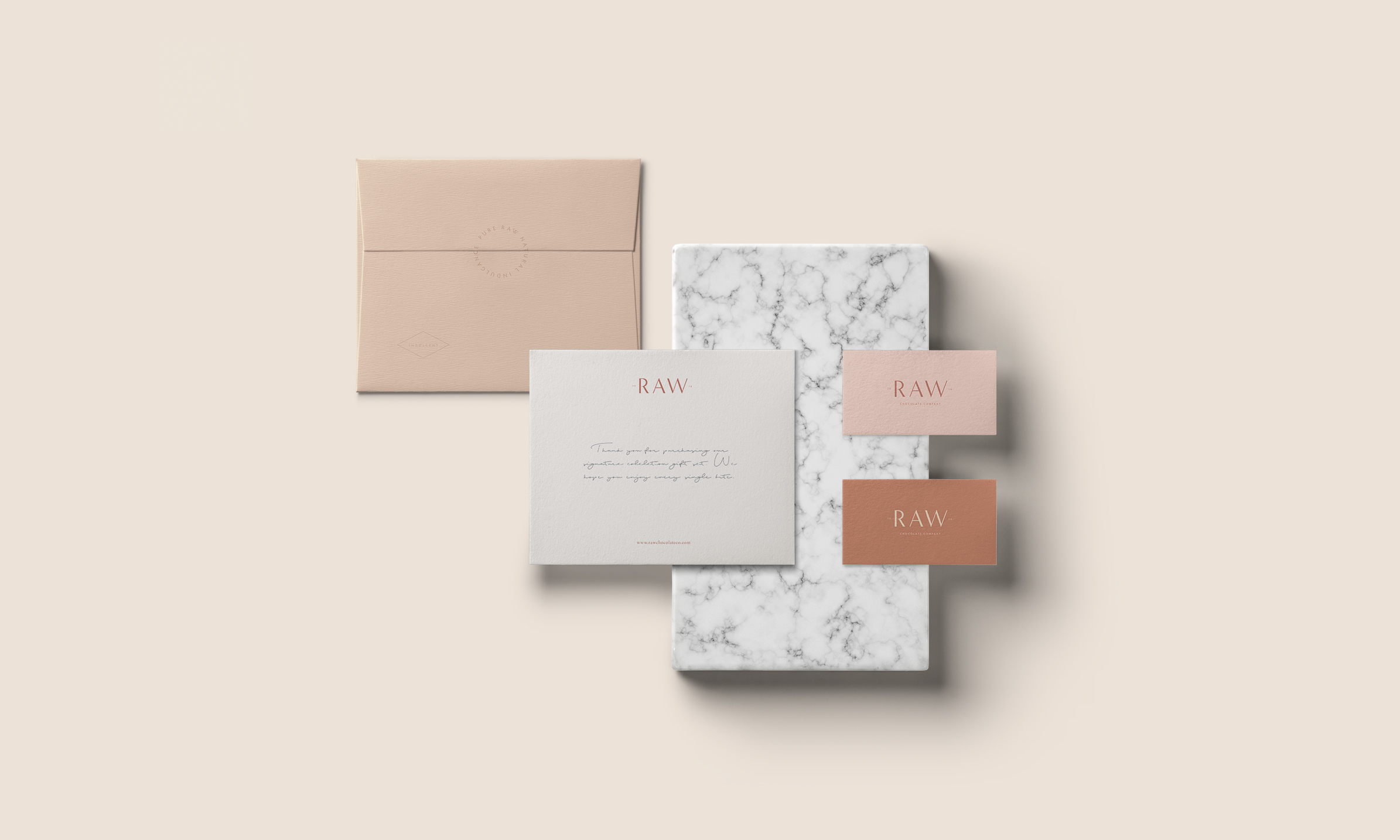 Studio Raw Mocks Stationery from Studio Collective