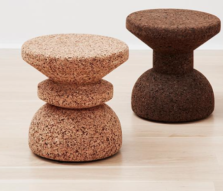 African Cork Stools by Wiid Design