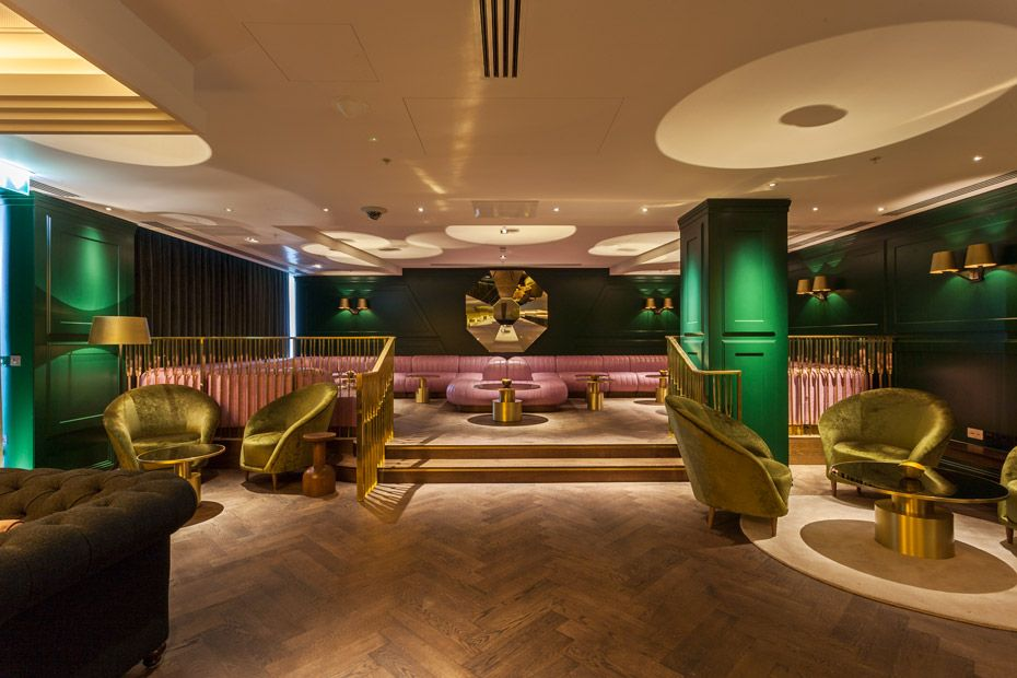 The interior of Dandelyn Bar
