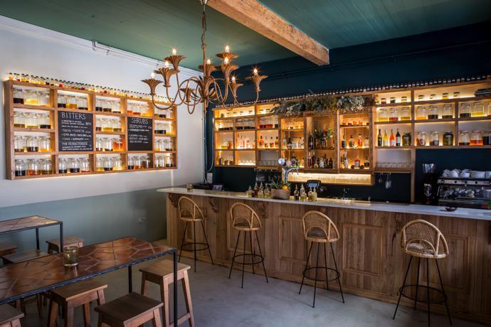 The Botanical Bar Interior