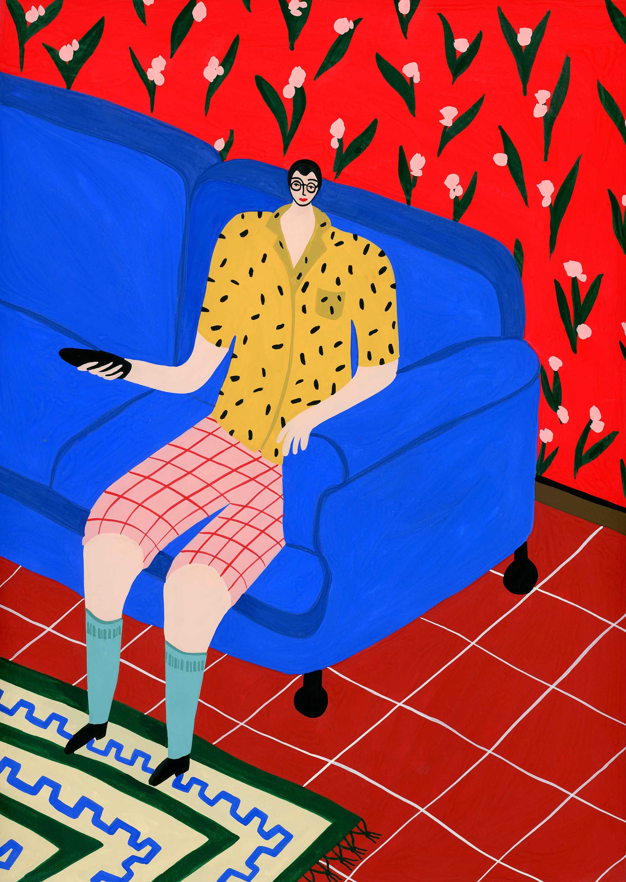 Patterned Man by Tara Deacon