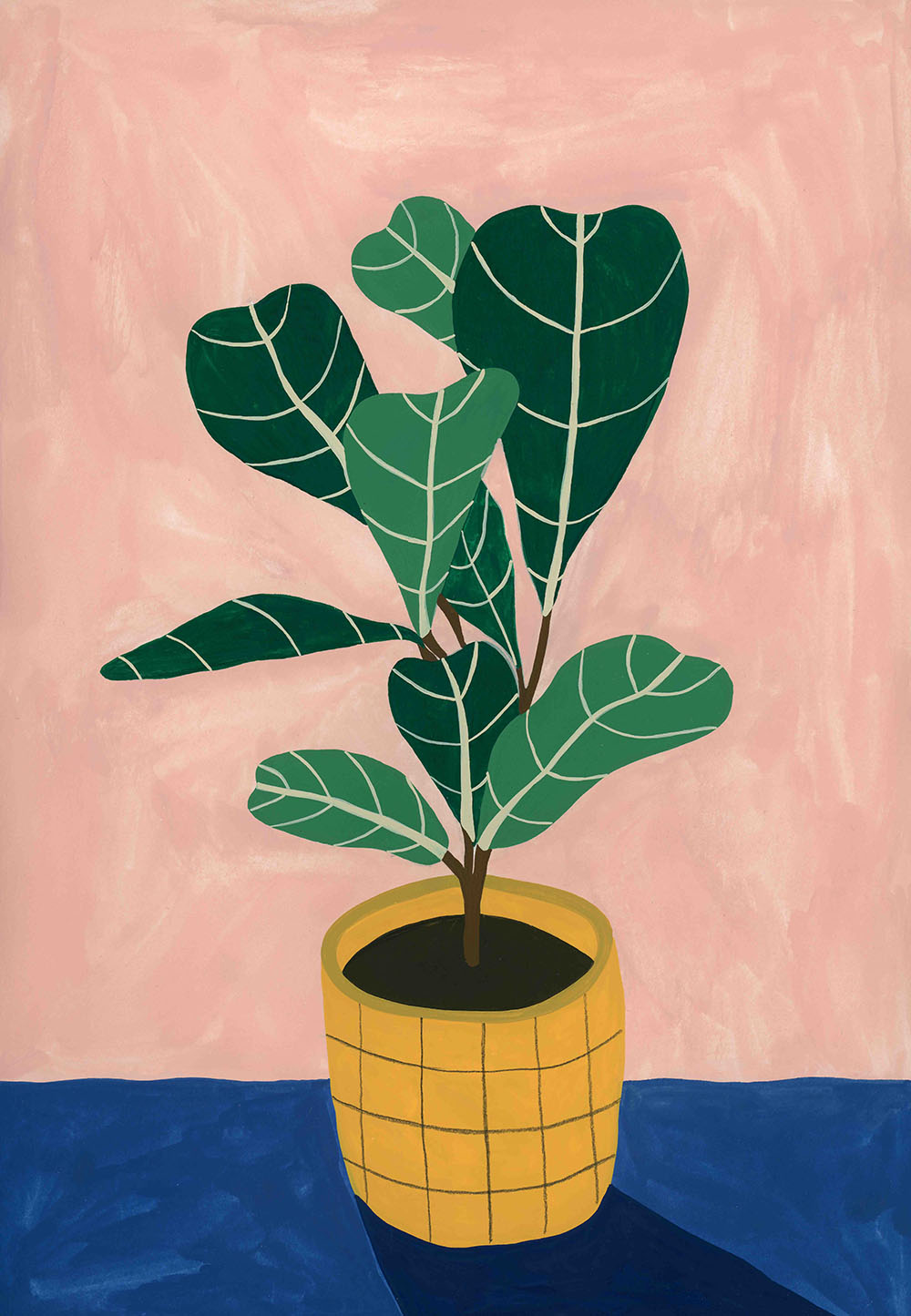 Mothers Fiddle Leaf Fig Tree by Tara Deacon