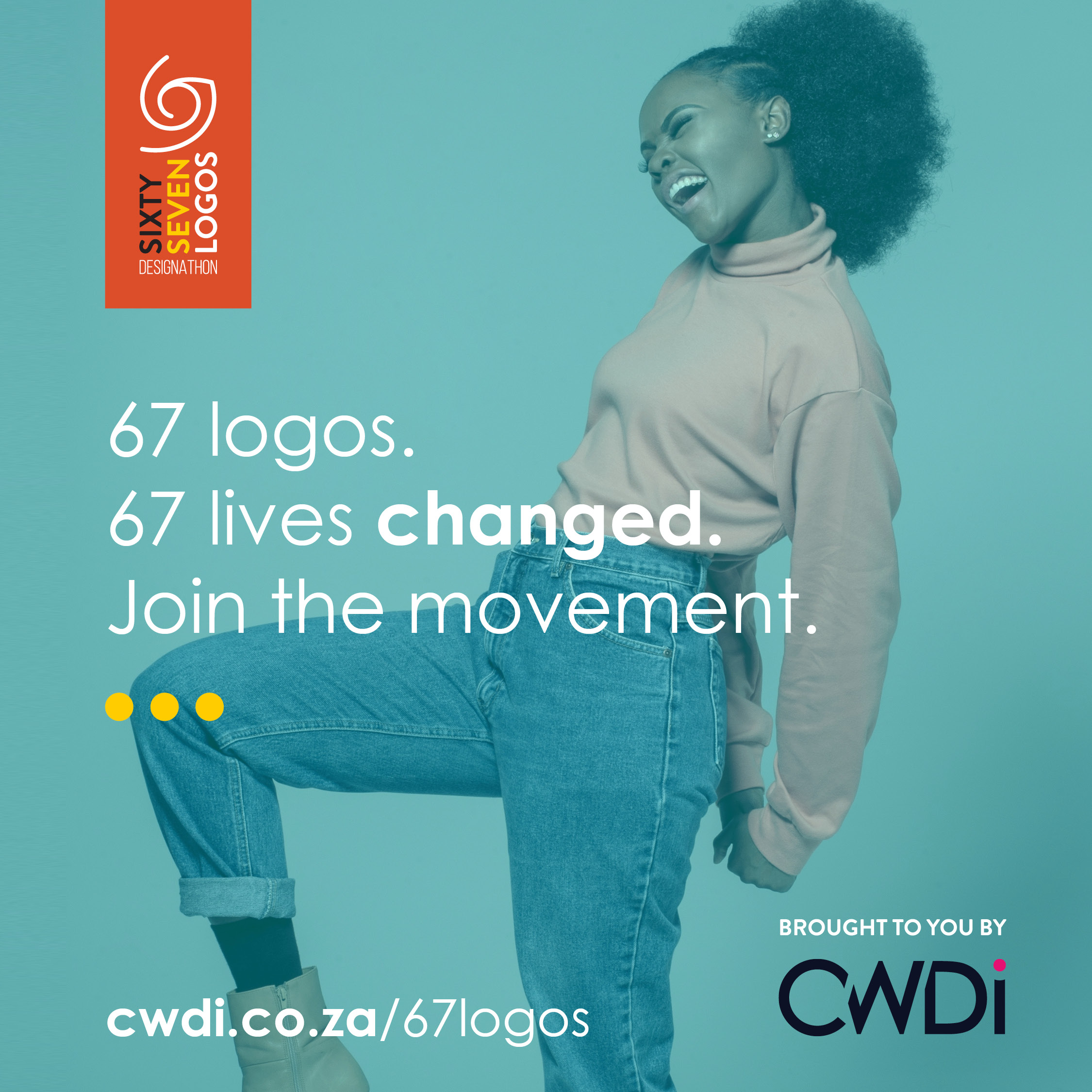 67 Logos event by CWDi poster