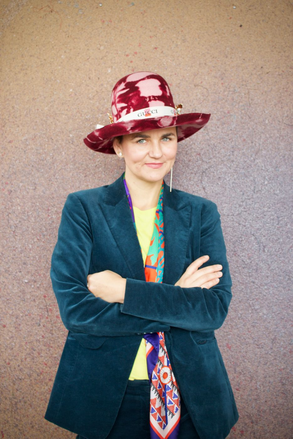 Milliner and co-owner of Parisian  Milliners, Crystal Birch. Image by Amber Rose Cowie.