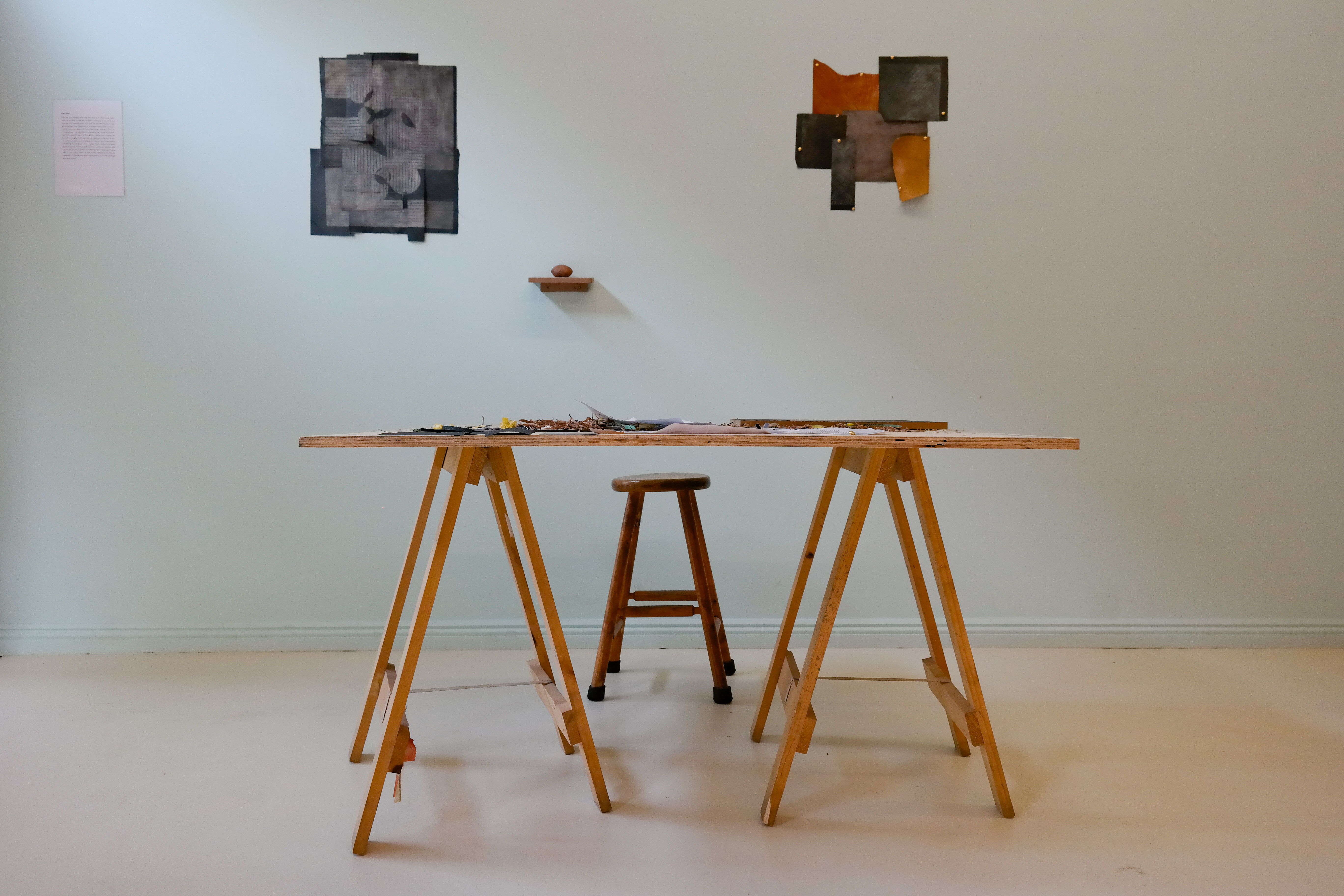 A Table with pieces by Chris Soal