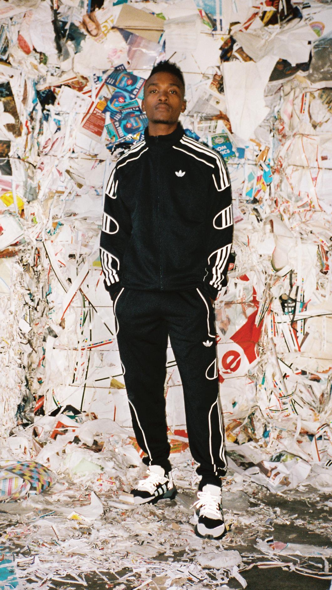 DJ LAG in the Adidas Nite Jogger Sneakers