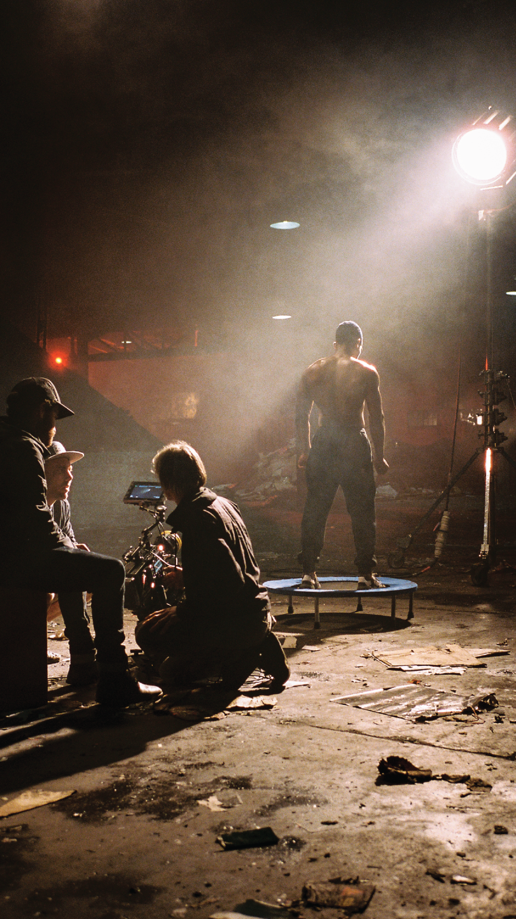 Behind the scenes of the Anywhere We Go music video