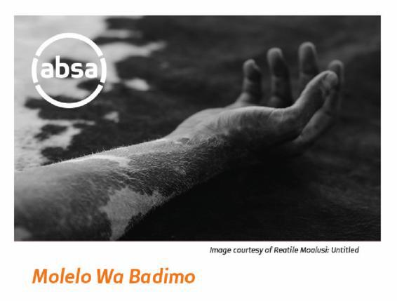 Reatile Moalusi Solo Exhibition Molelo Wa Badimo at Absa Gallery