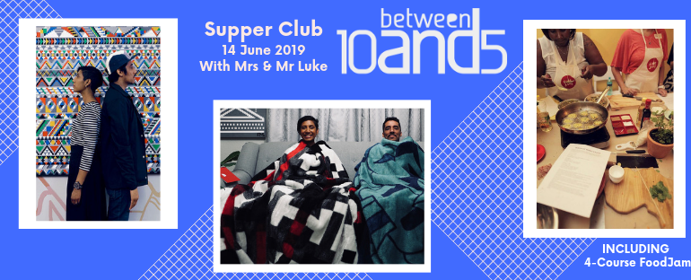 10and5 Supper Club: Mrs & Mr Luke
