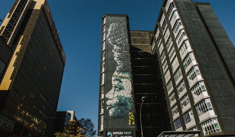 Coetzee's Ndzundza Mural is one of the Largest Public Artworks to date