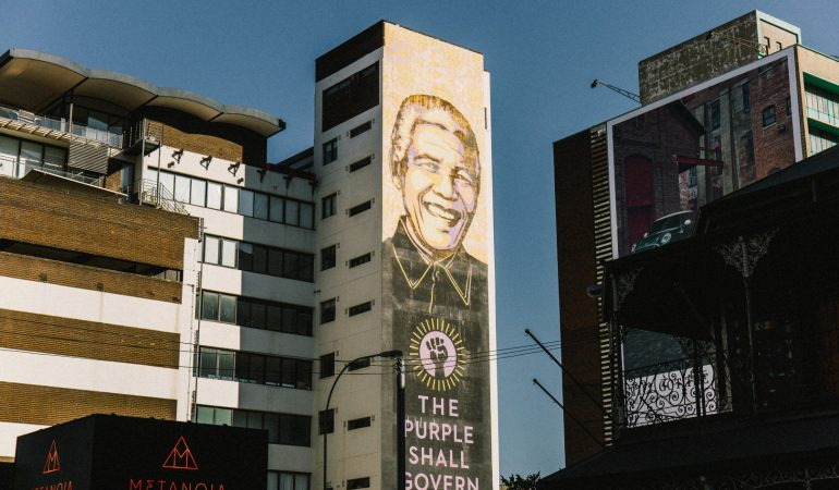 Shepard Fairey's mural pays tribute to The Purple Rain Protest