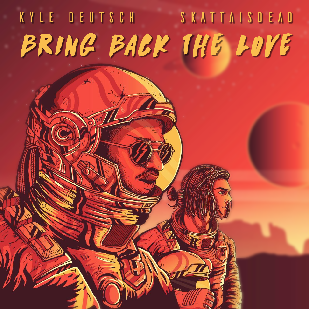 Kyle Deutsch and Skatta is Dead Bring Back the Love track cover art
