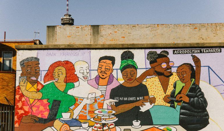 Street Art | Dada Khanyisa's Reflections On Daily Life