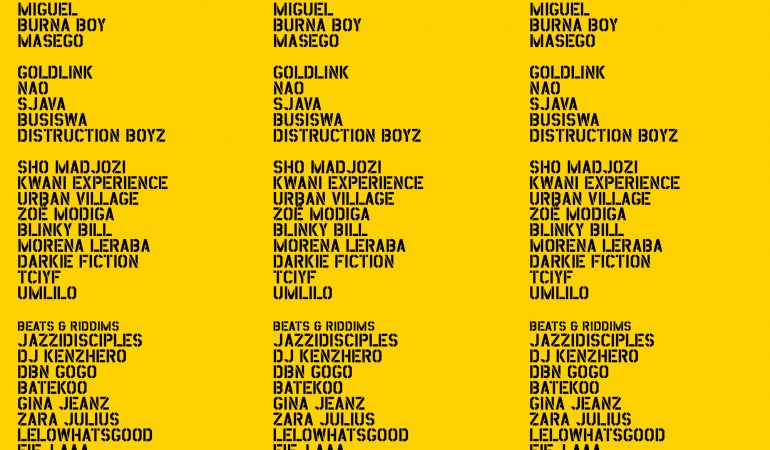 AFROPUNK adds Burna Boy and SJAVA to 2019 Joburg Artist Line Up