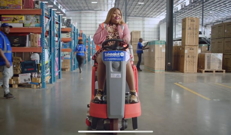 Takealot teams up with Coconut Kelz for their new Ad Campaign