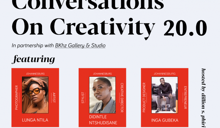 Conversations On Creativity 20.0 with Lunga, Didintle & Inga