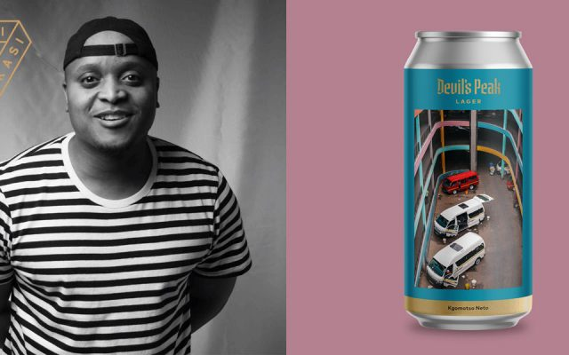 Kgomotso Neto Collaborates  with Devil's Peak to create Limited Edition Beer Can
