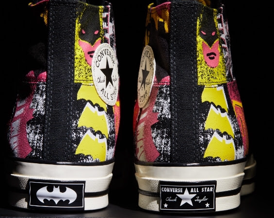 Dope Sneaker Alert: Converse teams up with  Batman for their 80th Anniversary