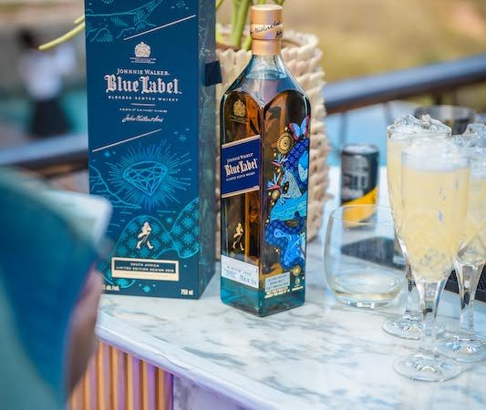 Johnnie Walker Blue Pays Homage to SA's Beautiful Heritage with a New​ Packaging Design