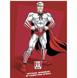KFC Teamed Up With Comic Illustrator Loyiso Mkize to Create 'Captain Colonel' The Superhero