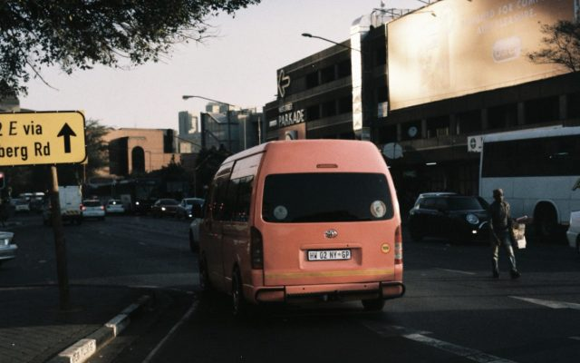 Art Goes Unconventional​ : Kgomotso Neto Turns Bree Taxi Rank Into An Art Space