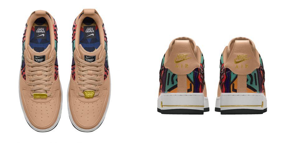 caos terrorista Misericordioso  Nike By You Collaborates with Karabo Poppy for the Latest Collection of Air  Force 1 Low | Between 10 and 5