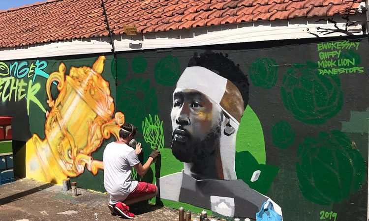 Four Durban-based Street Artists Painted a Mural to honour Springboks' win