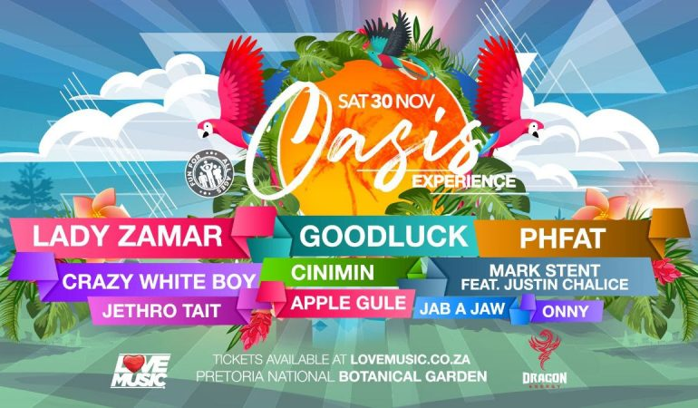 Oasis Experience goes big this Summer with Lady Zamar, GOODLUCK, PHFAT, Crazy White Boy & more