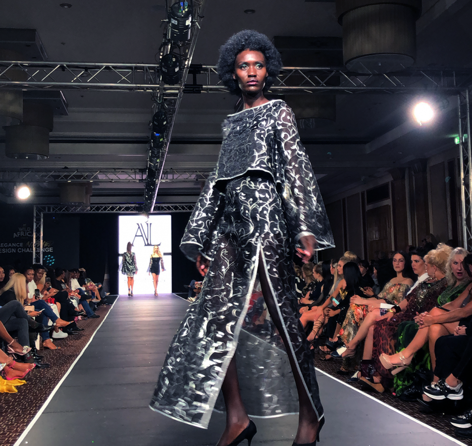 First Year Villioti Fashion Institute Student Aimee Foord Wins The Elegance Untamed Design Challenge Between 10 And 5