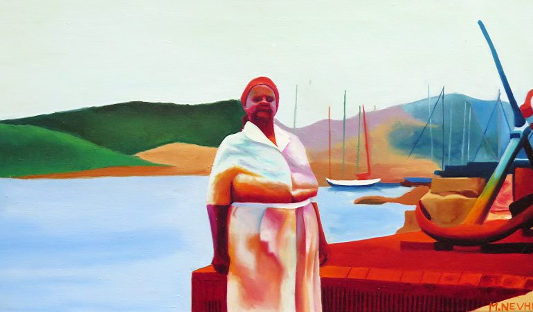 BKhz Gallery Presents Mashudu Nevhutalu's Archives of Colour