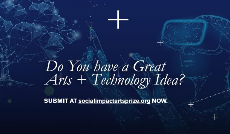 OPEN CALL: The Social Impact Arts Prize Invites Creatives to Engage with Social Challenges