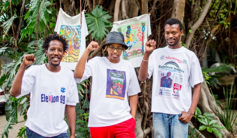 The Ubuntu Art Museum Presents the 'Struggle T-Shirt' Exhibition in Honour of Day of Reconciliation