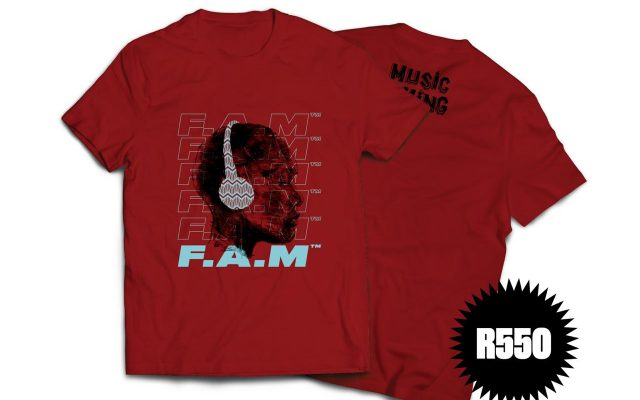 Laduma Ngxokolo, Nelson  Makamo & Black Coffee Release Limited Edition F.A.M Academy Merch Exclusive to Music Is King