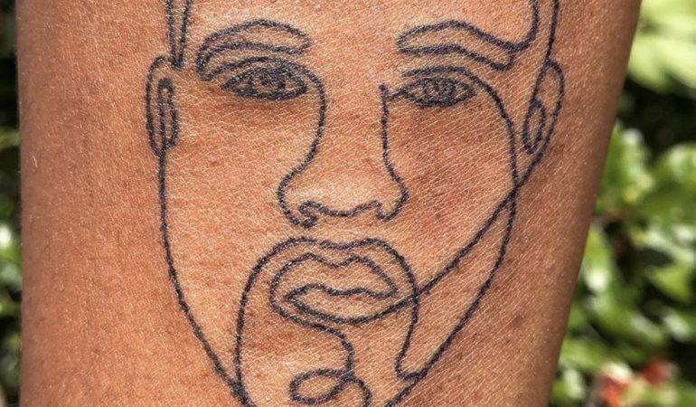 CPT Based Artist, Alien Girl Illuminates Hand Poked Tattoos