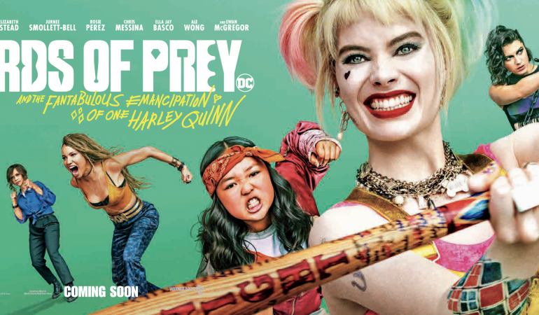 OPEN CALL: Illustrators Invited to Create Their Own Vision of the BIRDS OF PREY Characters Ahead of Film Release