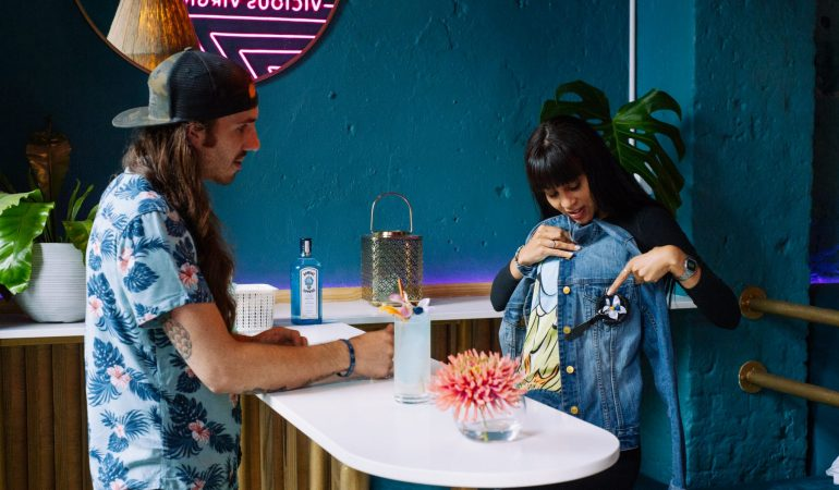 Bombay Sapphire's Stir Creativity Campaign Dares Kaylin Car & Jody Rahme to Create Outside Their Comfort Zones