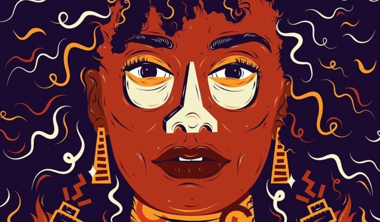 Karabo Poppy Teams Up with Netflix & Strong Black Lead for New 'Queen Sono' Illustration