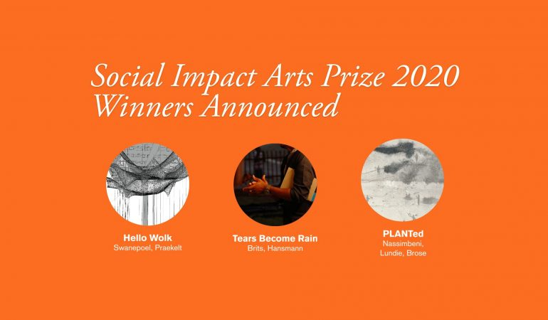 The Social Impact Arts Prize Announces 2020 Winners